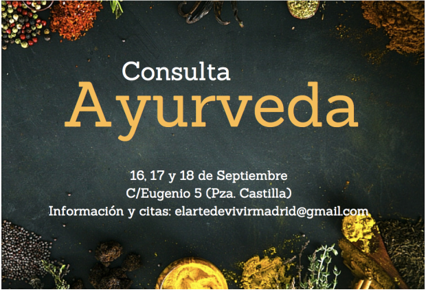 Consultas ayurveda septiembre